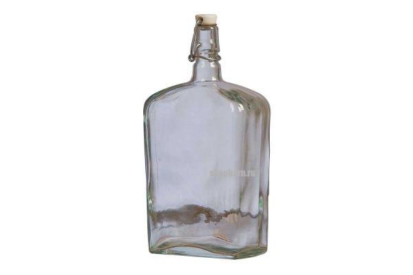 Стеклянная бутылка Викинг 1,75 литра