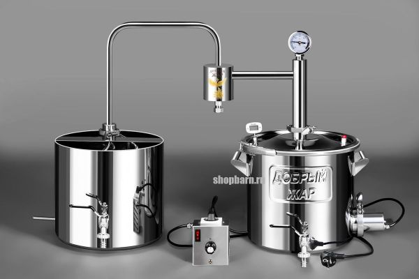 Дачный самогонный аппарат Добрый Жар 30 литров