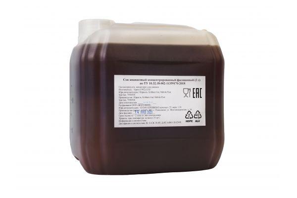 Сок концентрированный Ананасовый 5 кг
