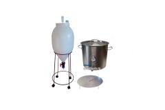 Пивоварня ЦКТ 62 л с сусловарочным котлом 50 л.