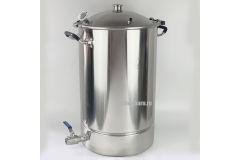 Перегонный куб с купольной крышкой Distillex с выходом под кламп 1,5